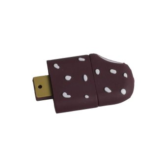 Incipient Cute Chocolate Ice Cream Design 32GB Flash Drive (Brown)