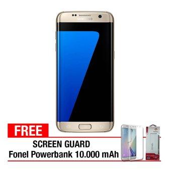 Samsung Galaxy S7 Edge - 32GB - Gold + Gratis Anti Gores + PowerBank