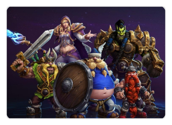 Heroes of the Storm mouse pad hot sales pad to mouse notbook computer mousepad cute gaming padmouse gamer to keyboard mouse mats - INTL