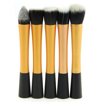 Eyeshadow Powder Brush Set Gold