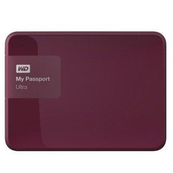 Western Digital My Passport Ultra 1TB - Premium Storage HDD / HD / Hardisk / Harddrive - Merah