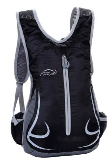 Unisex 12L Outdoor Cycling Backpack (Black) (Intl)