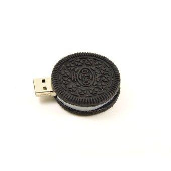 FbscTech 64GB High Speed Round Cookies Design Gift Memory Stick USB 2.0 Drive- Intl