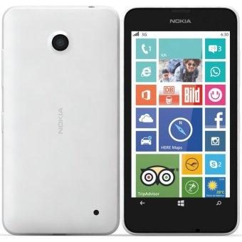 Nokia Lumia 630 Dual Sim - 8GB - Putih