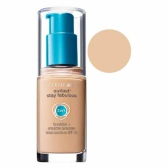 harga Covergirl Outlast Stay Fabulous 3 In 1 Foundation - 810 Classic Ivory Lazada.co.id