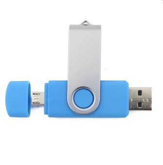 16GB Smart OTG USB Flash Drive (Blue) (Intl)