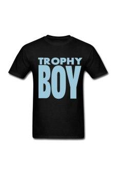 Men's Trophy Boy Personalize T-Shirt for black - Intl