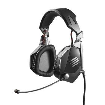 Mad Catz F.R.E.Q. 5 Stereo Headset PC Gaming - Matte Black