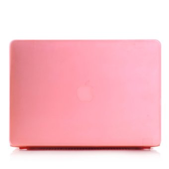 Plastic Hard Cover Case Protector for Macbook 11 Air Pink - Intl