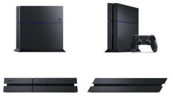 Sony PS4 Playstation 4 CUH-1200A B01 - Hitam + Gratis Extra Controller