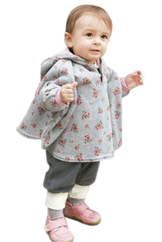 harga Cyber Baby Two-Sided Wear Reversible Children's Cape Outerwear Jacket Clothing Coat Velvet Cloak Hoodie (Pink) Lazada.co.id
