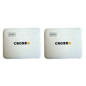 Jual Cross Power Bank 5800 mAh 2 USB - Putih - 2 Pcs Harga Termurah Rp 600000. Beli Sekarang dan Dapatkan Diskonnya.
