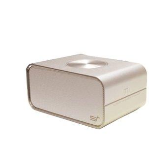 Bluetooth Speaker Mini Stereo Audio Sound Speakers for Phone Tablet Laptop (Gold) (Intl)