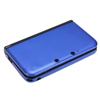 Fang Fang Hard Shell Protective Case Cover for Nintendo 3DS LL XL (Dark Blue)