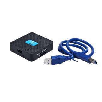 High Speed USB 3.0 All in 1 SD TF CF XD M2 MS Flash Memory Card Reader Adapter (Black) (Intl)