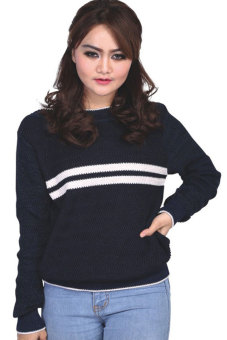 harga Catenzo Sweater Wanita - Biru Lazada.co.id