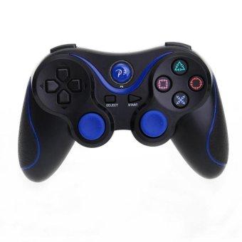 Generic Bluetooth Wireless GamePad for Sony Playstation 3 (Black + Blue) - Intl