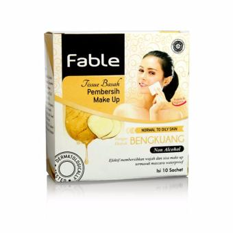 Fable Tissue Pembersih Make Up Bengkuang