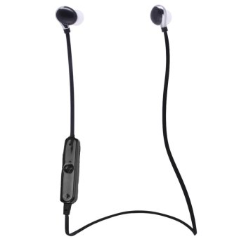 CatWalk Sweatproof Wireless Bluetooth Earphone (Black) (Intl)