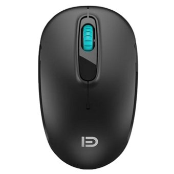 FOME V2c 2.4GHz Wireless Mouse Silent Click Optical Mice for PC and Mac (Black) - INTL
