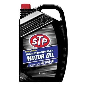 STP - Motor Oil SAE 20W-50 - 4 L