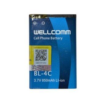 Wellcomm Battery Nokia BL-4C 850 mAh - Biru terpercaya