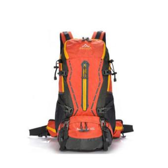Free Knight 45L Waterproof nylon Professional Outdoor Sport Climbing Hiking climbing mountaineering Backpack Travel bags(Orange) - INTL