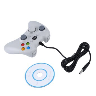 Wireless Game Remote Controller for Microsoft for Xbox 360 Console White (Intl)