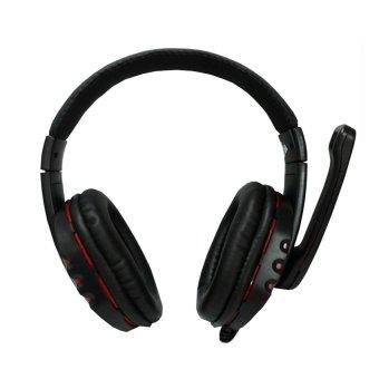 Ovleng Stereo Headphone X6 Super Bass - Hitam