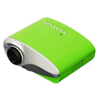 RD-802 Mini LED Digital Projector HD 1080P Video Game TV beamer for Home Theater Cinema(Green) (Intl)