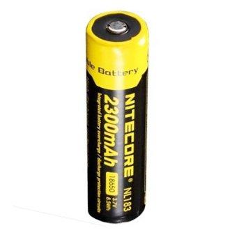 NITECORE 18650 Rechargeable Li-ion Battery 2300mAh 3.7V - NL183 - Kuning terpercaya