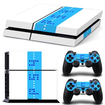 Bluesky Ps4 Console Full Skin Sticker Faceplates (Paints Console Skin X 1 + Controller Skin X 2) (Intl)