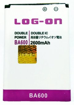 Log On Battery For Sony BA 600 for Sony XPERIA U (ST25 / ST25i) terpercaya