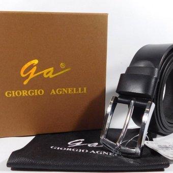 harga GIORGIO AGNELLI GA1634MMF ORIGINAL LEATHER BLACK Lazada.co.id