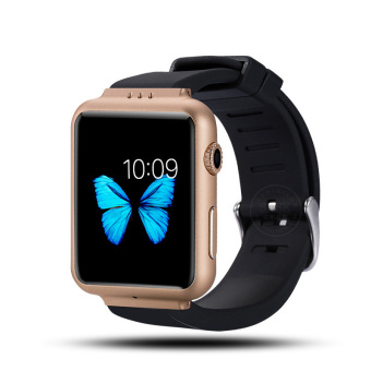 2016 New Smart Watch K8 Android 4.4 os smartwatch with 2M pixels Webcam Wifi 3G for Android Smart phone Support SIM Card smartwatch phone(Gold) (Intl)