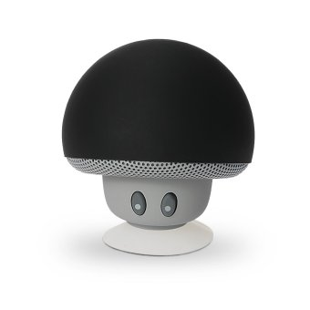 Portable Mini Mushroom Stereo Speaker with Silicone Suction for Smartphones