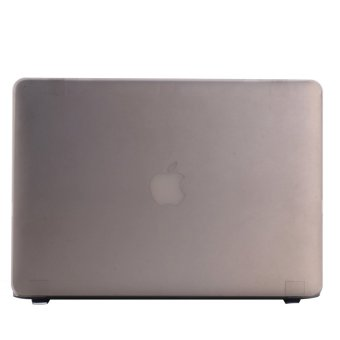 11.6 Inch Air Laptop Shell Hard Cover Case Protector for Macbook (Grey) (Intl)