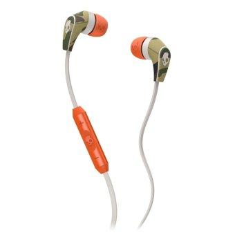 Skullcandy 50/50 IN-EAR W/MIC 3 Camo/Bone