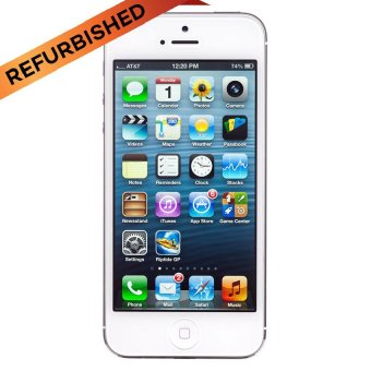 Refurbished Apple iPhone 5 - 16 GB - Putih - Grade A(…)