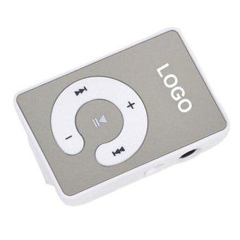 Sanwood 8GB Clip USB MP3 Player (White) - Intl