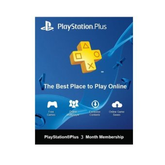 Sony Sony PlayStation Plus 3 Bulan US PS Plus 3 Months US Digital Code