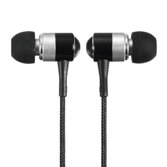 S & F 3.5mm Headphones Earbud For iPhone 6 Galaxy s5 Note 4 MP4 MP3 (Silver) - Intl