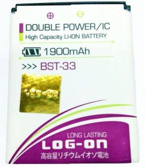 Log On Battery For Sony BST-33 terpercaya