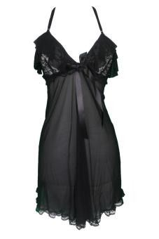 harga Gudang Fashion - Pakaian Lingerie Wanita Fashion - Hitam Lazada.co.id