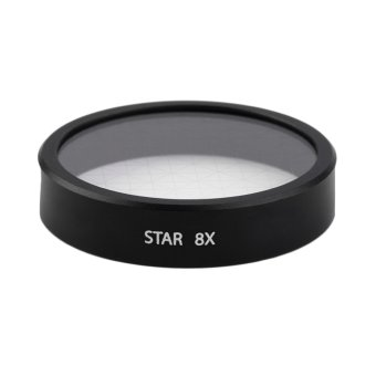 1pc 8X Star Point Cross Line Filter Lens For Phantom 3 Pro Advanced Camera