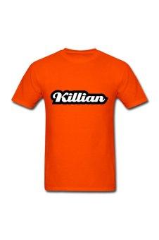 Men's Christian Killian Designed T-Shirt for orange - Intl