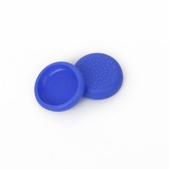 S & F Pair of Joystick Thumbstick Cap Caps for Sony PlayStation 4 PS4 Controller Blue