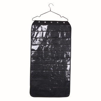 KUNPENG Jewellery and Accessories Organiser Hanging Storage Bag With Hook40 Pockets - Intl