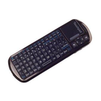 iPazzPort 2.4GHz KP-810-18BV Mini Wireless Keyboard Touchpad (Black) - Intl