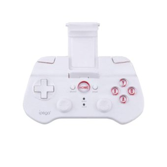IPEGA PG-9017S Wireless Bluetooth 3.0V Controller for Ipad / Iphone / Smartphone + More - White (Intl)